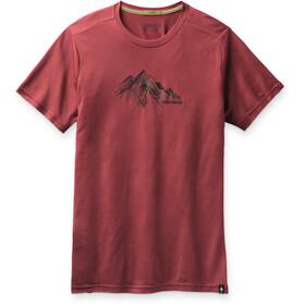 Smartwool Merino Sport 150 Skjorte Rocky Range Grafik Herrer, masala